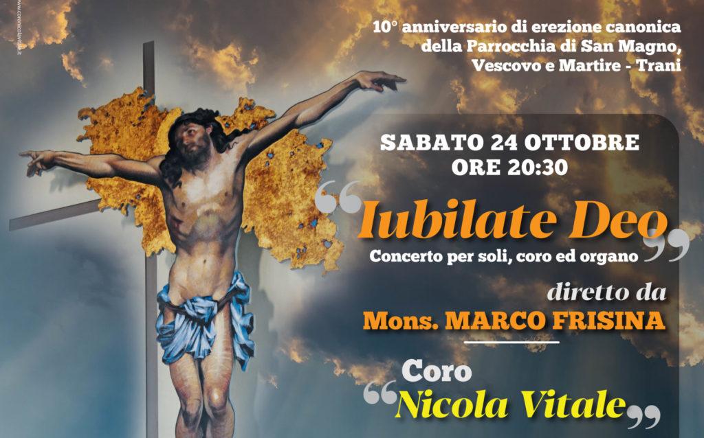 IUBILATE DEO – Concerto per soli, coro ed organo